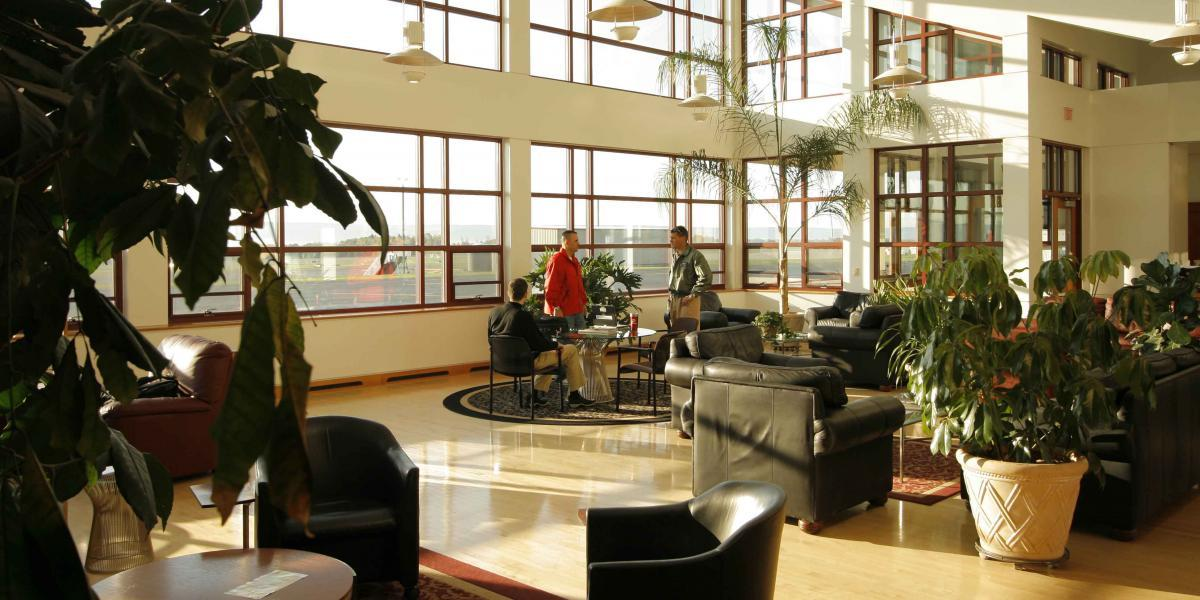 Aviation Center Terminal Lobby